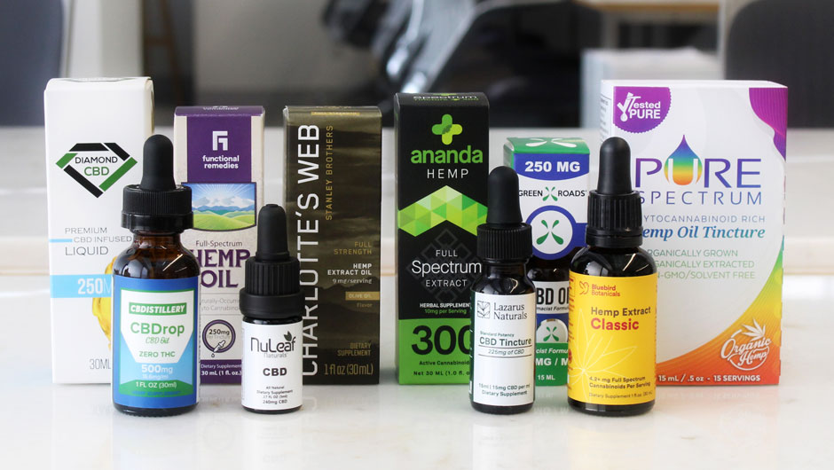 All brands of CBD oil and Hemp oil of Testing Results