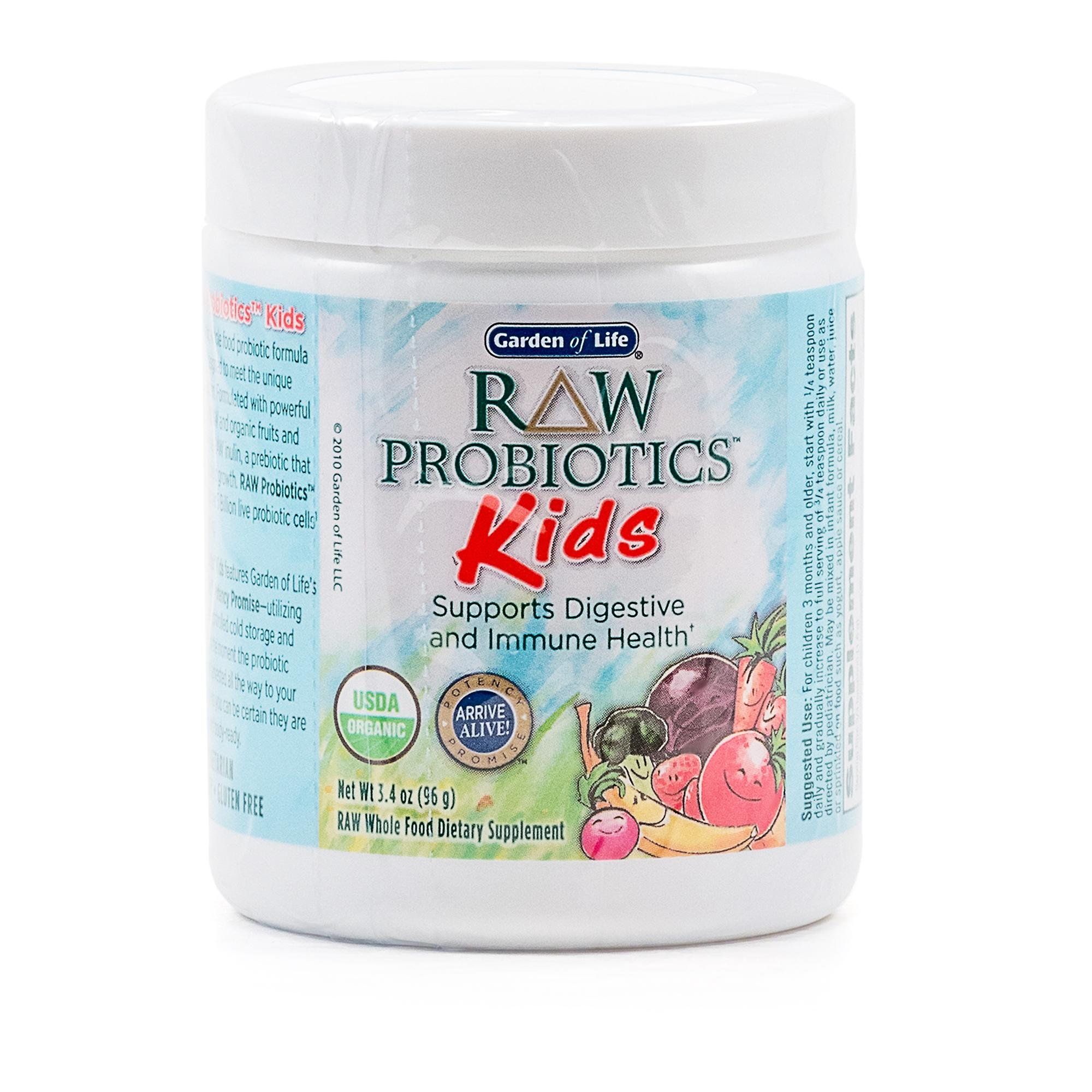 garden of life raw probiotics kids review labdoor