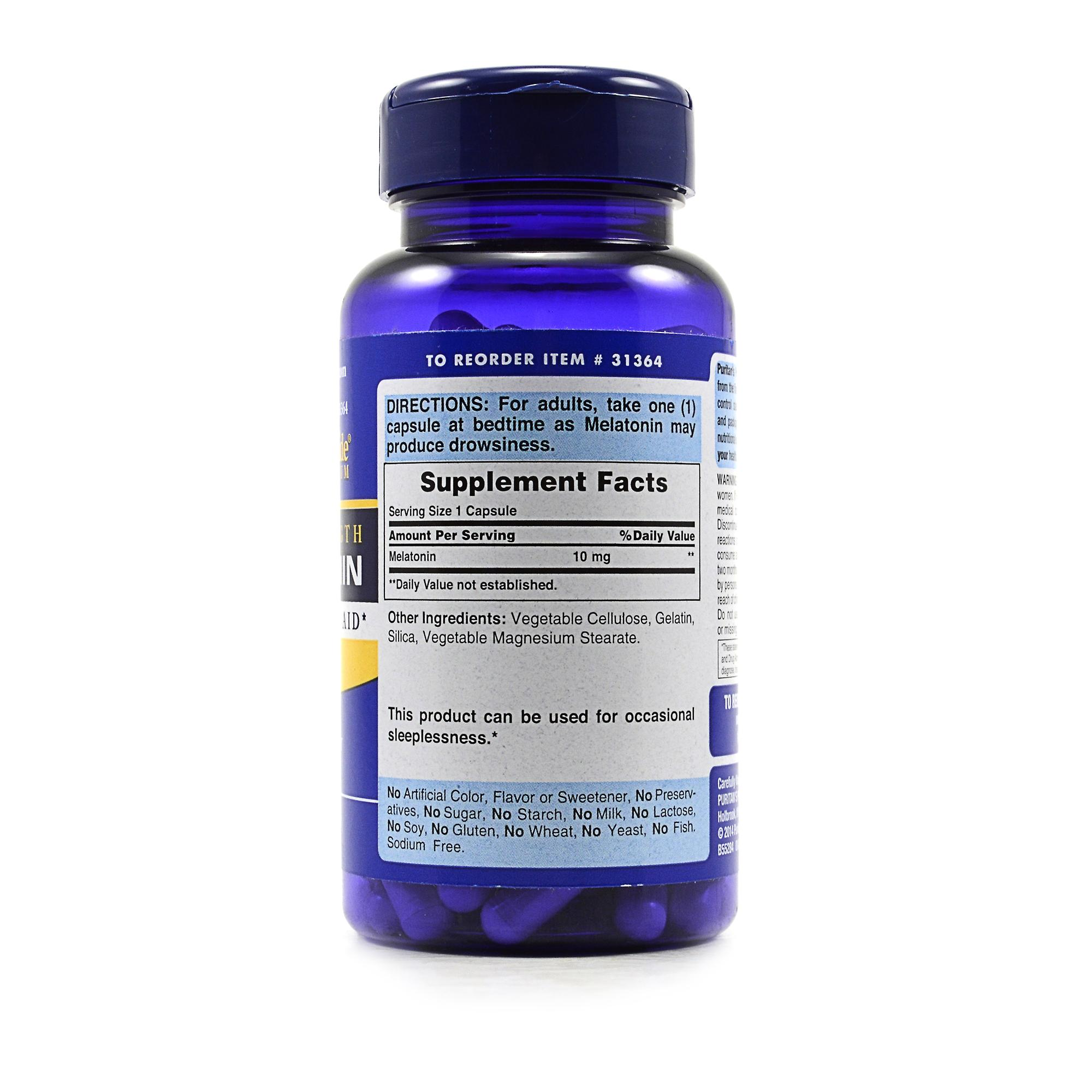 Puritan39;s Pride Premium Super Strength Melatonin Review  LabDoor