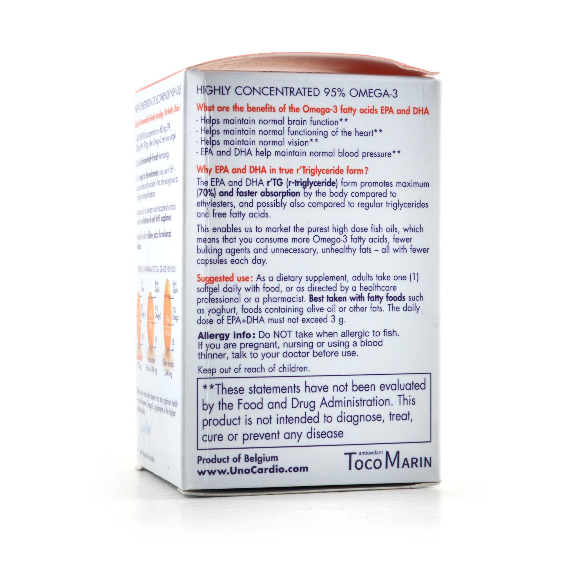 whc unocardio r 39 triglyceride omega 3 review labdoor