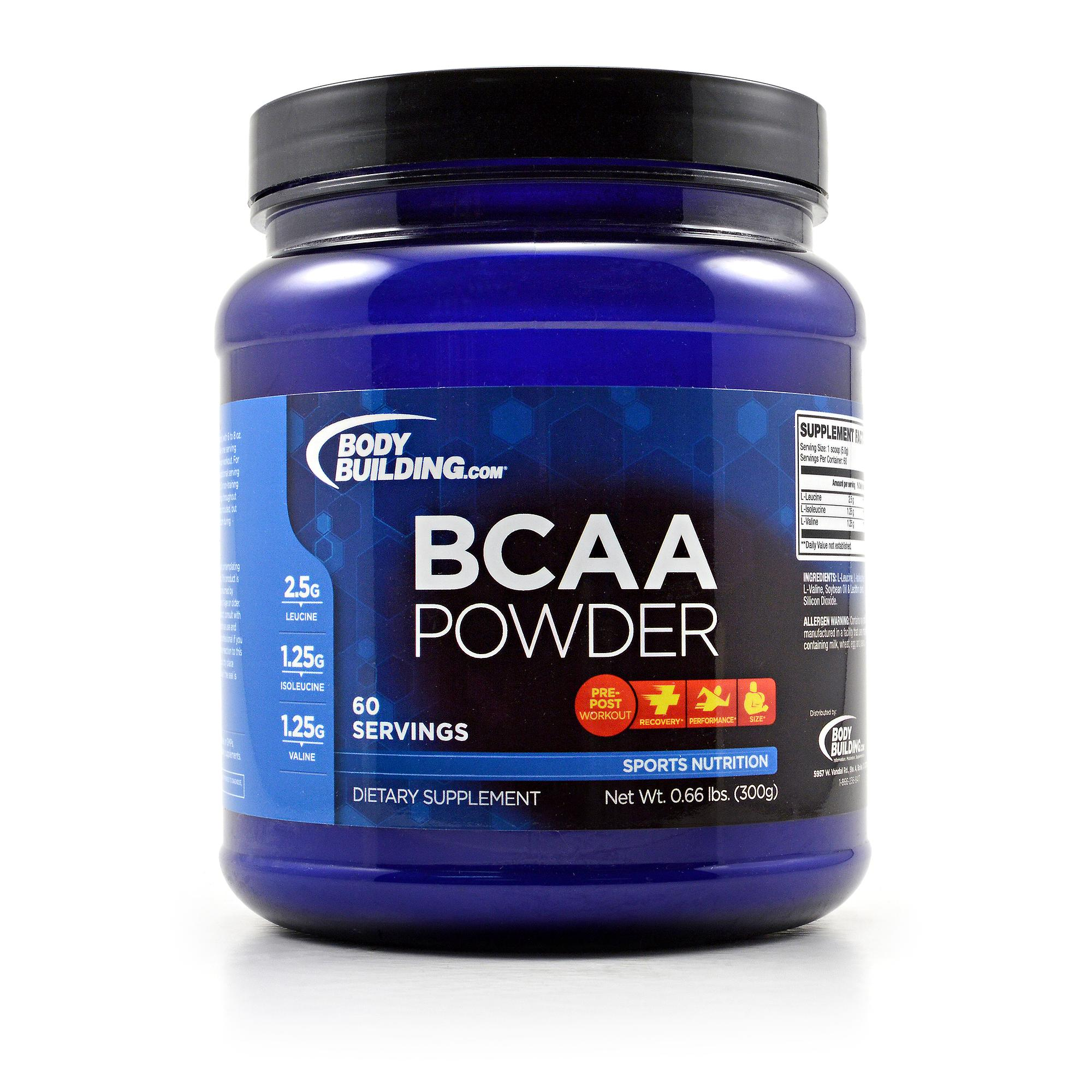 Bodybuilding.com BCAA Powder Review - LabDoor