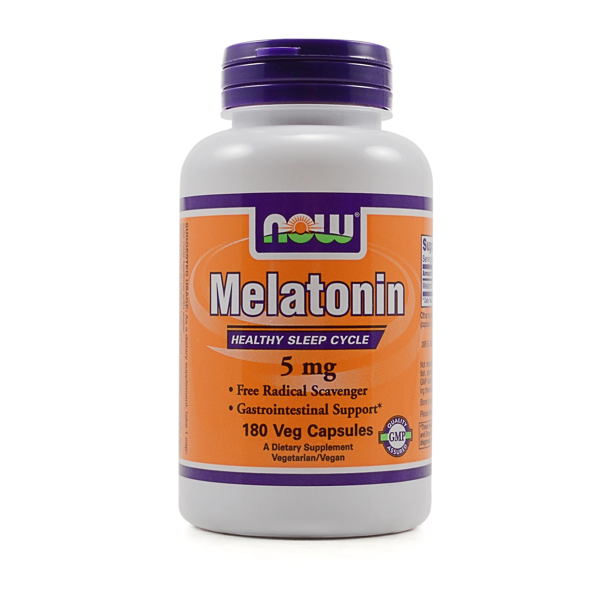 NOW Foods High Potency Melatonin Review - LabDoor