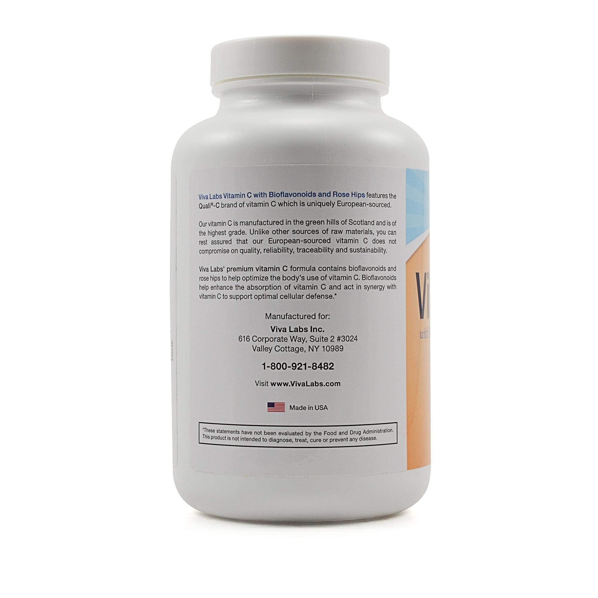 Viva labs vitamin c review labdoor for Viva labs fish oil