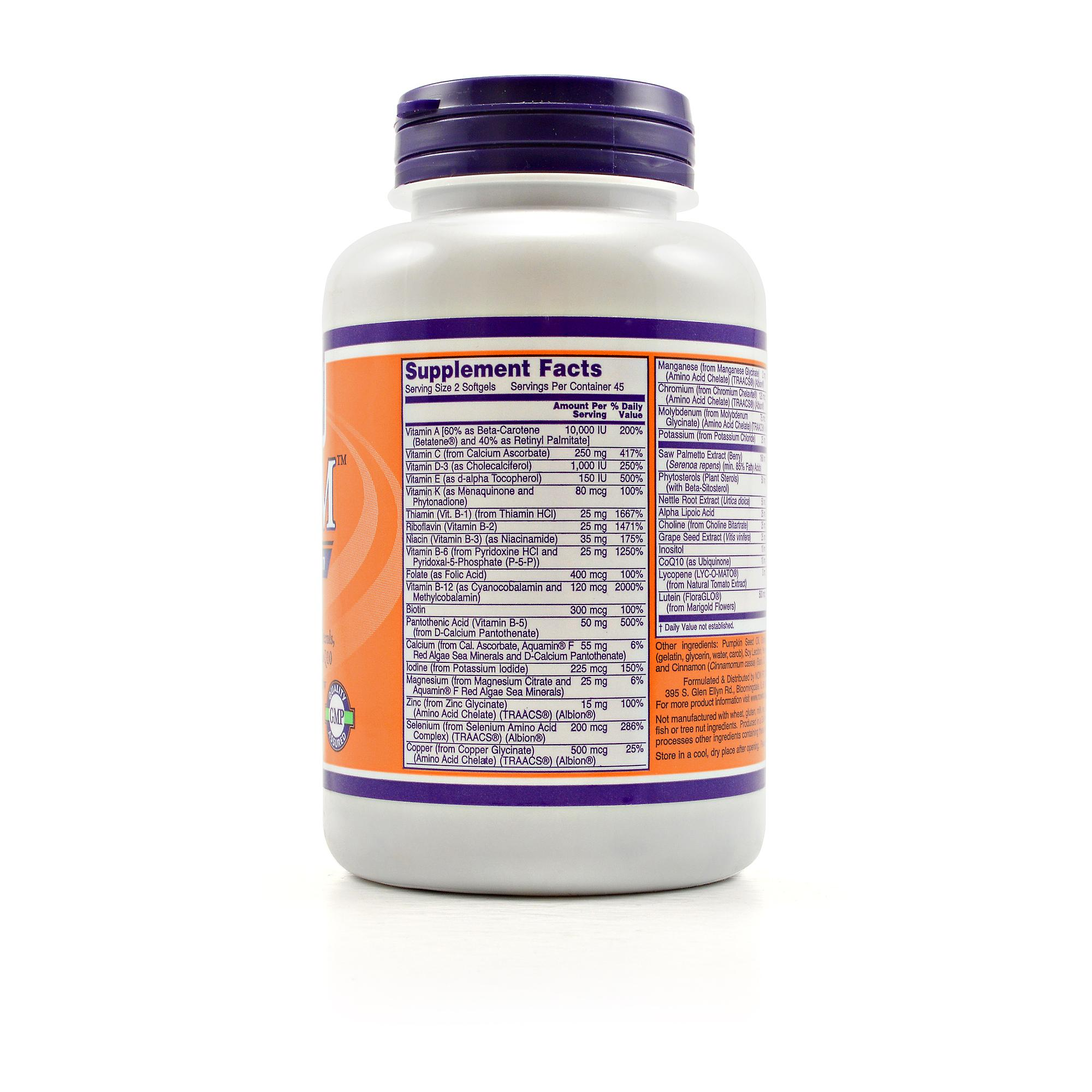 Price Of Now Foods Adam Men S Multivitamin
