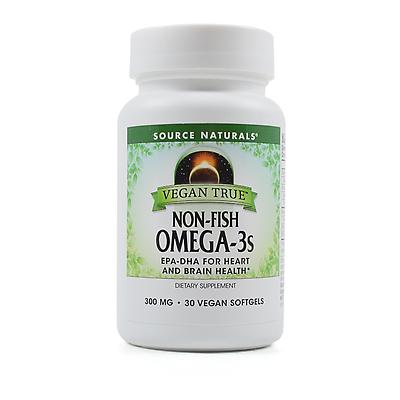 Source naturals vegan true non fish omega 3s review for Non fish omega 3