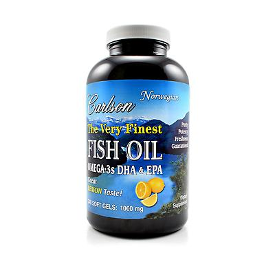 Carlson Labs Very Finest Fish Oil Review