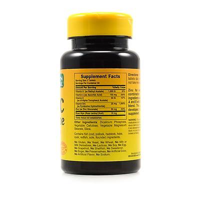 Good N Natural Zinc For Acne Ingredients