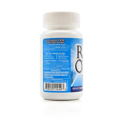 Garden of Life Vitamin Code Raw One For Men Review Labdoor