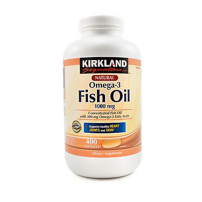 kirkland signature fish oil review omega 3 fish oil