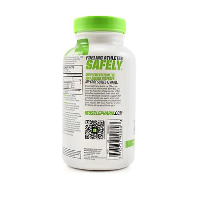 Musclepharm fish oil review for Labdoor fish oil