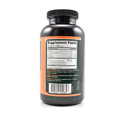 Optimum nutrition fish oil review for Fish oil nutrition