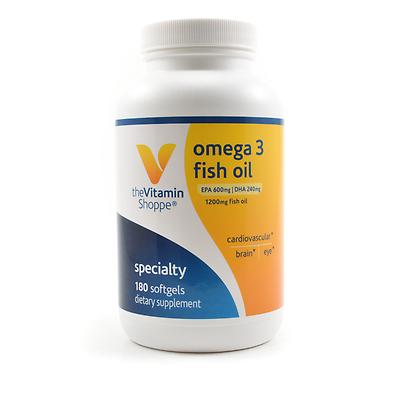 Vitamin shoppe fish oil review omega 3 fish oil capsules for Omega 3 fish oil reviews