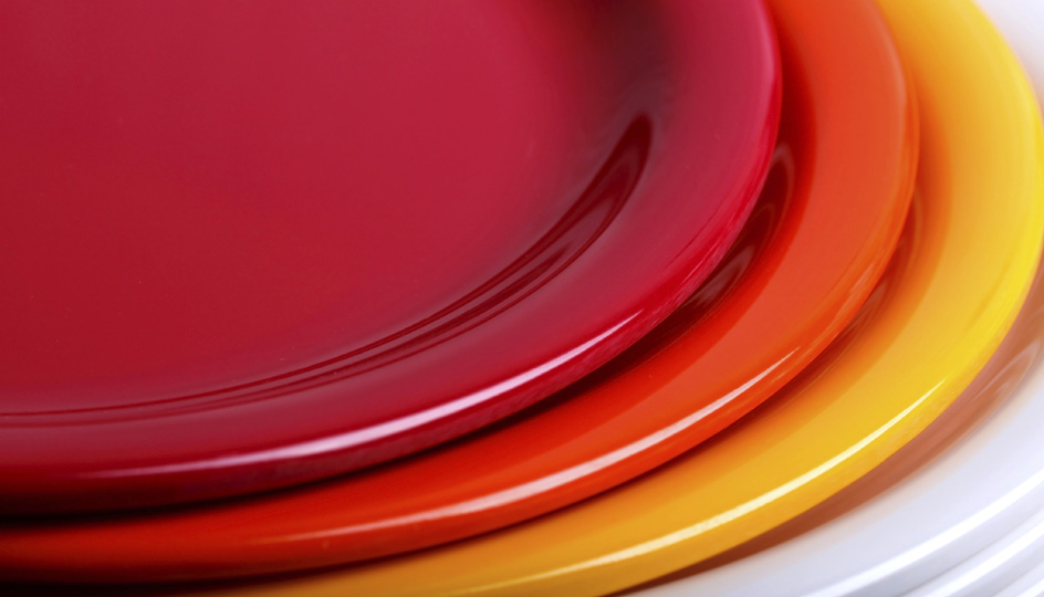 kitchen plates
